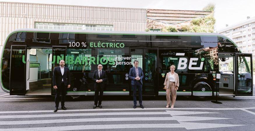 Hoy se presentó el Irizar ie tram de 12 metros en Vitoria