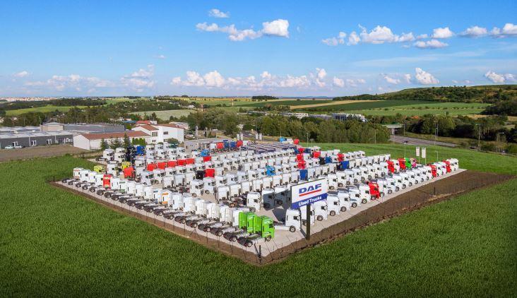 Nuevo centro de camiones usados de DAF Trucks en Praga