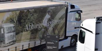 Active Brake Assist 5: Seguridad total en el Mercedes-Benz Actros.