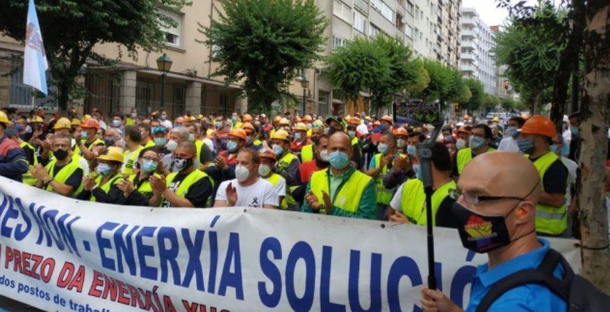El comité de empresa trasladará en una reunión con Alcoa mañana que acepta la propuesta de Gobierno y Xunta