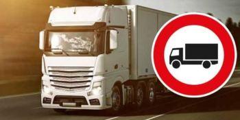 La DGT modifica las restricciones a camiones en Burgos
