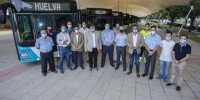 Huelva ultima la renovación de la flota de transporte público con 10 autobuses a GNV