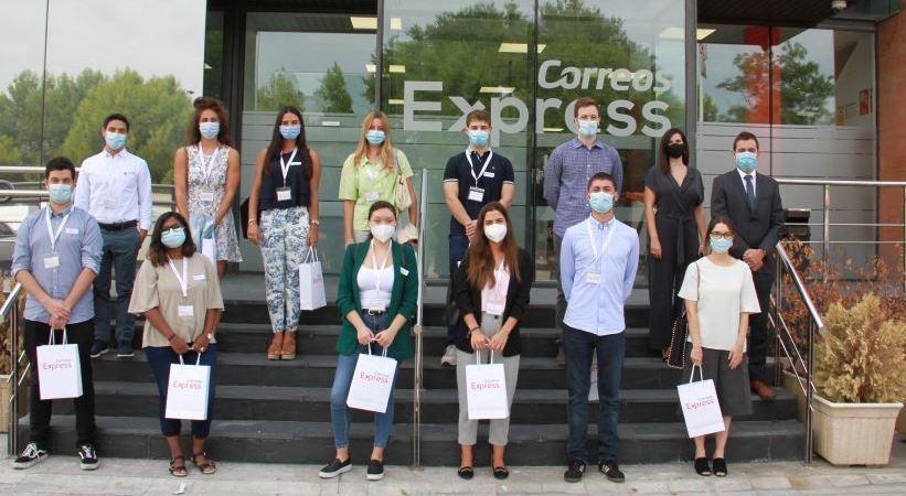 Correos Express incorpora 14 'Jóvenes Talentos' en prácticas apostando por la formación profesional