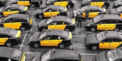 El impacto de la reducción del turismo al sector del Taxi en Barcelona.