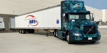 NFI comienza a probar camiones eléctricos Volvo VNR de transporte pesado en California