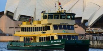 Scania reconfigura la primera flota de transbordadores de Sydney.