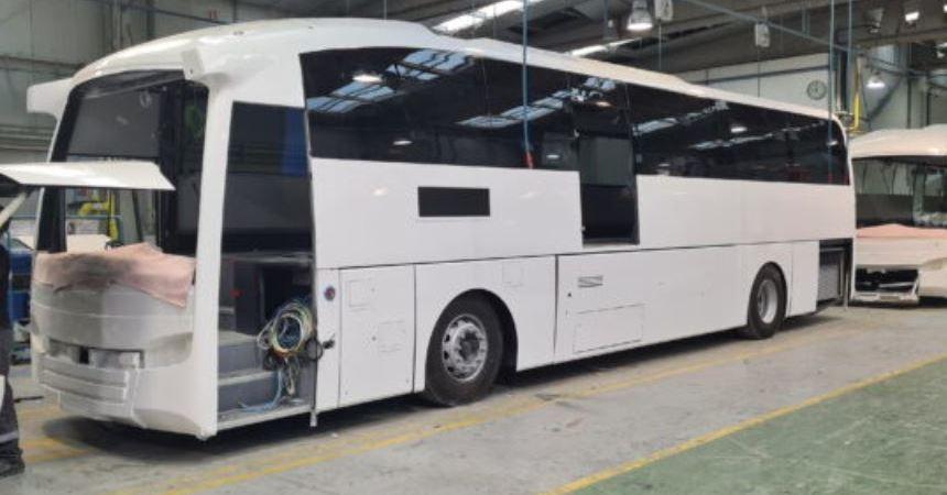 Sunsundegui prepara la entrega de 30 autocares SC5 para Translink en Irlanda