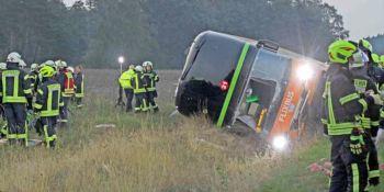 Varios heridos en el accidente de un autobús de FlixBus en Alemania
