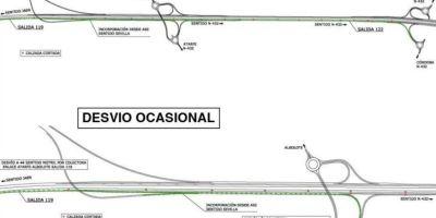 Afecciones al tráfico en la A-44, Variante Exterior de Granada
