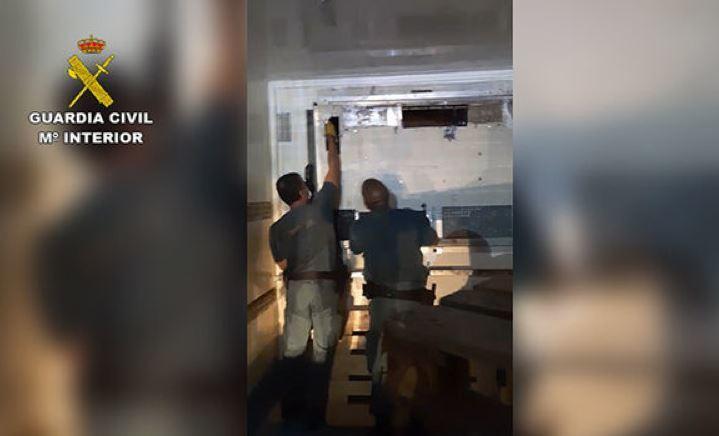 A prisión un camionero detenido con 91 kilos de marihuana