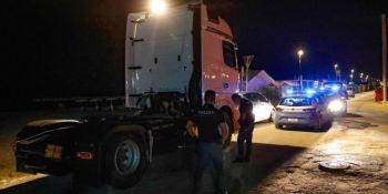 Detenido un camionero ebrio que circuló 5 km por un carril bici