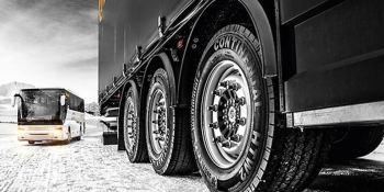 Continental presenta la normativa sobre los neumáticos de invierno para camiones y autobuses.