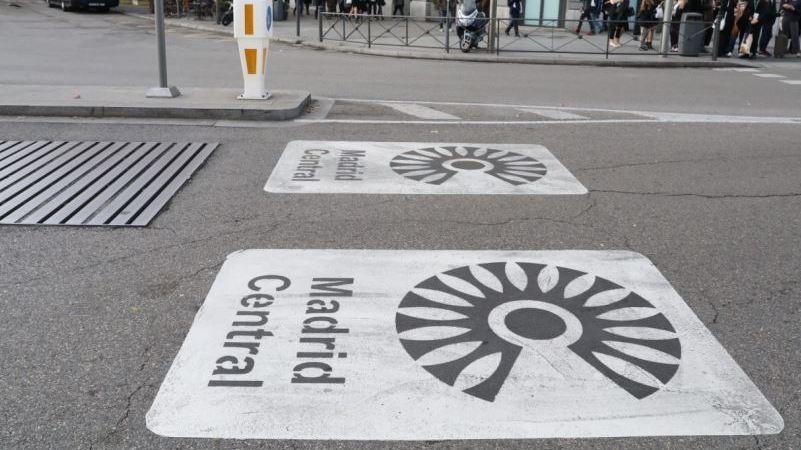 Prorrogados los horarios de reparto para acceder a Madrid Central