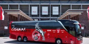El exclusivo nuevo Setra Bus del FC Colonia