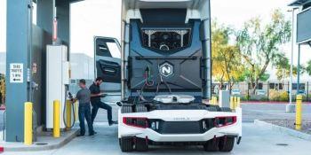 El hidrógeno para camiones, una inversión masiva