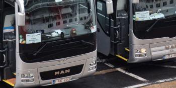 El transporte en autobús y autocar en Bélgica cae un 90%