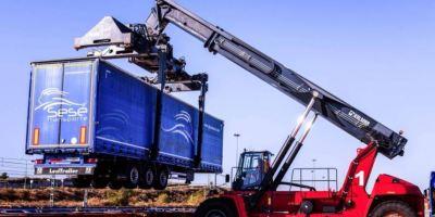 CSP Iberian Zaragoza Rail Terminal confirma su plena capacidad para operar trenes de ferroutage