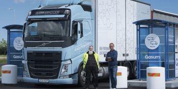 Culmina con éxito la prueba con camiones Volvo a biogás en Suecia