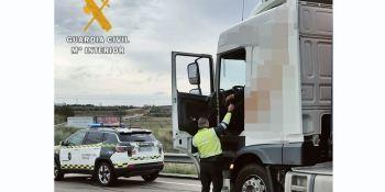 Investigado un camionero por sextuplicar la tasa de alcohol