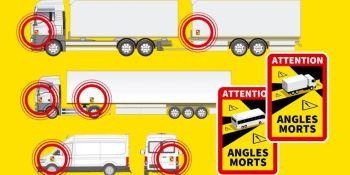 La CE y Francia discutirán la obligación de señalizar los puntos ciegos de los vehículos pesados
