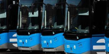 Scania entrega los ultimos 184 autobuses a GNC a la EMT de Madrid