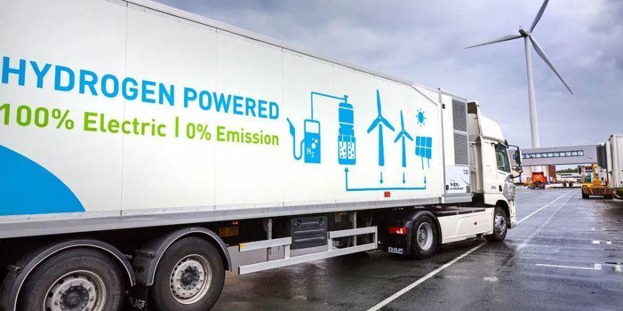 Continúan las pruebas del camión DAF preparado para 44 toneladas con motor hidrógeno