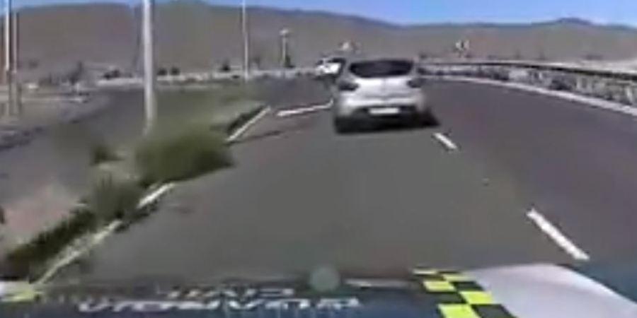 Espectacular persecución de la Guardia Civil a una conductora en Gran Canaria. Vídeo