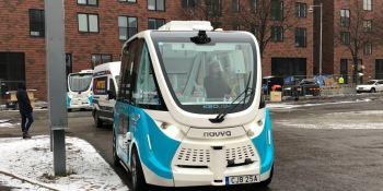 Keolis prueba vehículos eléctricos autónomos en Gotemburgo