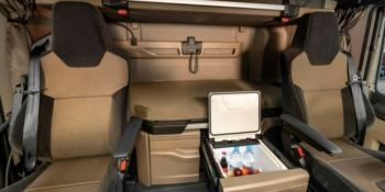 Los camioneros no solo viven en los 4 metros cuadrados de una cabina