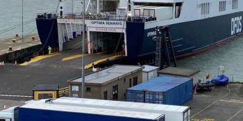 Una nueva ruta en ferry desde Dunkerque en Francia a Rosslare en Irlanda