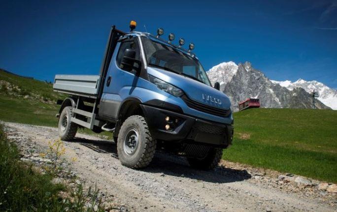 Así es la Daily 4x4, el versátil vehículo ligero de Iveco