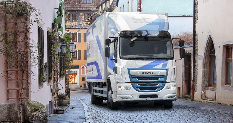 DAF presenta el camión LF Electric para repartos urbanos cero emisiones