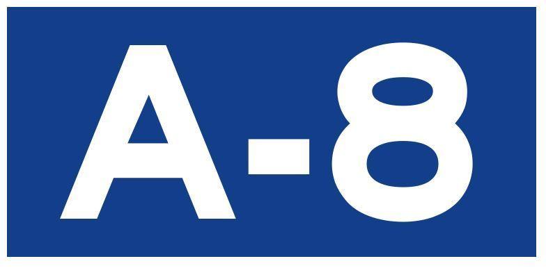 Corte de tráfico en la salida 406 de la A-8, sentido A Coruña