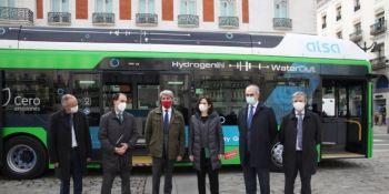 Alsa y la Comunidad de Madrid presentan el primer autobús de hidrógeno