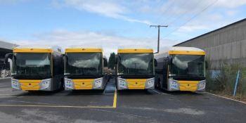 Baixbus incorpora a su flota 10 autobuses híbridos Scania