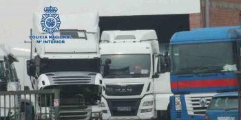 Detenido un empresario por apropiarse de 14 camiones valorados en 660.000 euros