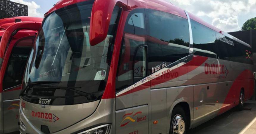 El autobús crece como alternativa durante la pandemia frente al vehículo compartido, según Avanza