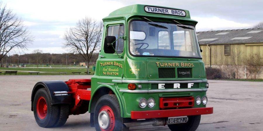 La historia de los camiones ingleses ERF