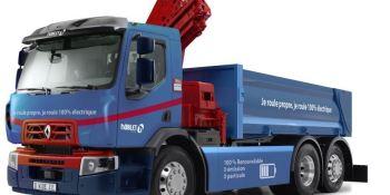 Renault Trucks produce su primer enfoque de camión 100% eléctrico para el Grupo Noblet