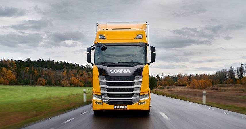 Scania 540 S gana en grande en pruebas comparativas de prensa