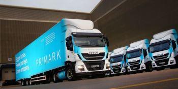 10 nuevos camiones de gas natural IVECO Stralis para la estrategia medioambiental de Primark
