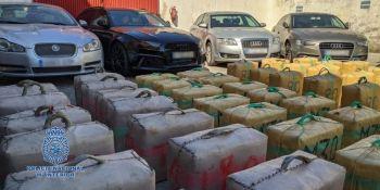 Desmantelada una red que utilizaba camiones para transportar droga a Francia y Portugal