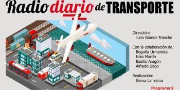 En el programa de la Radio de Diario de Transporte: El transporte de contenedores en los puertos