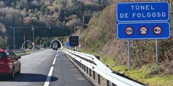 Los empresarios de Pontevedra piden la reapertura del túnel de O Folgoso