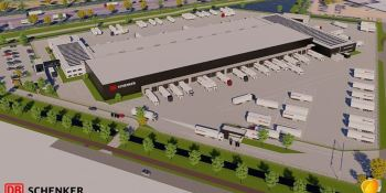 DB Schenker invierte en un moderno centro de transporte terrestre en Tilburg