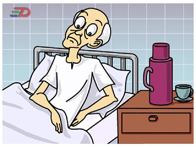 eu no hospital