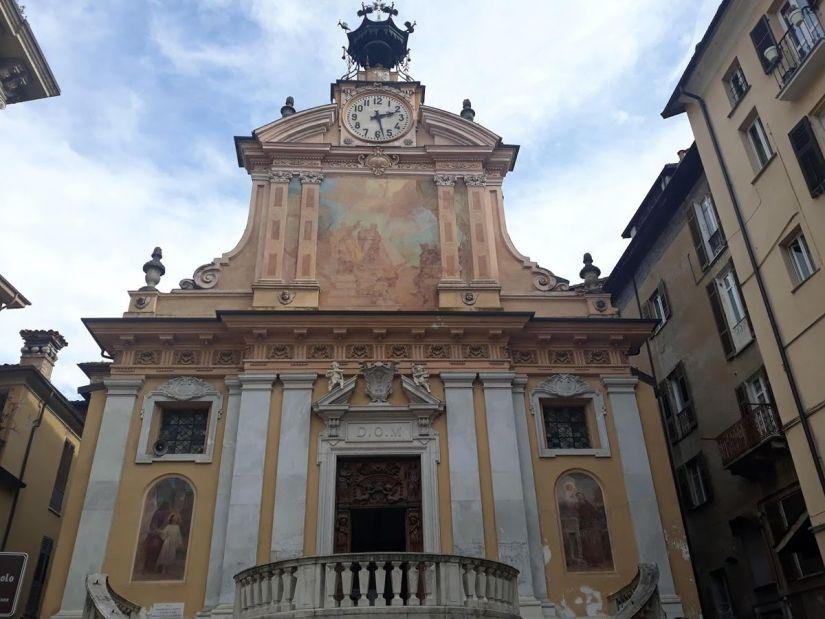 geocaching a Mondovì: chiesa dei Santi Pietro e Paolo