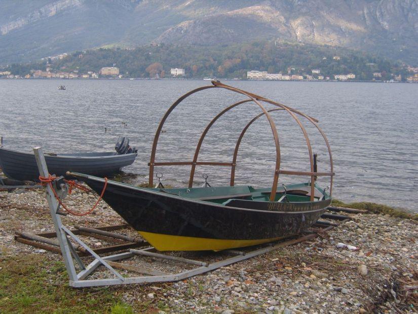 imbarcazione Lucia ormeggiata a Bellagio