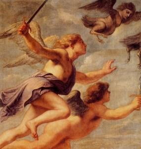 Quellinus Erasmus. La persecución de las harpias.