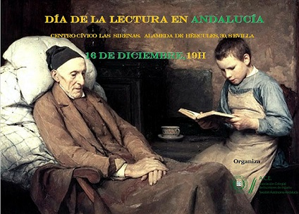 Día de la lectura en Andalucía, 16 de diciembre, ACE-Andalucía 2014